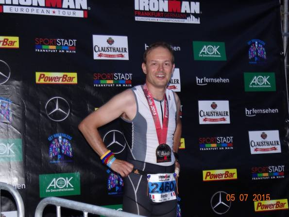 Frantz K, finisher!