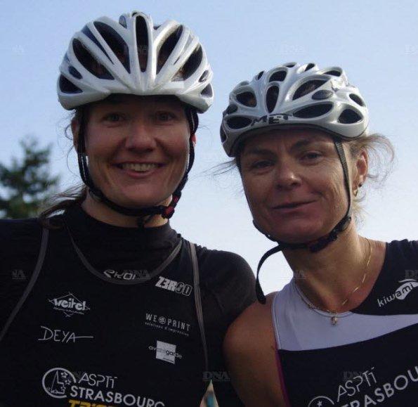 Guillemette (à gauche) et Karine (à droite)