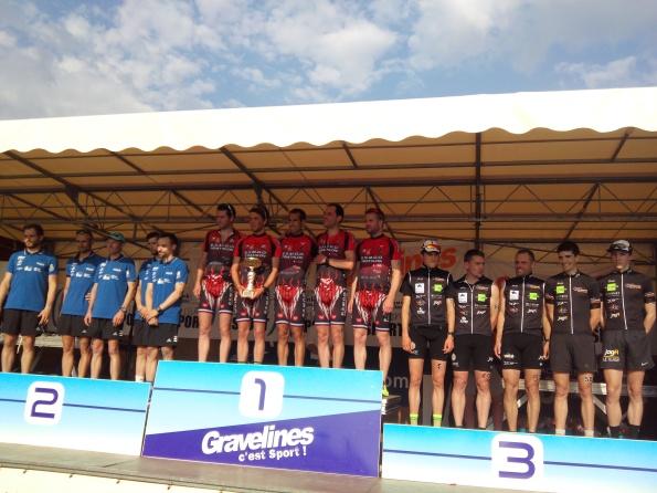 Podium équipe GP Duathlon 2016