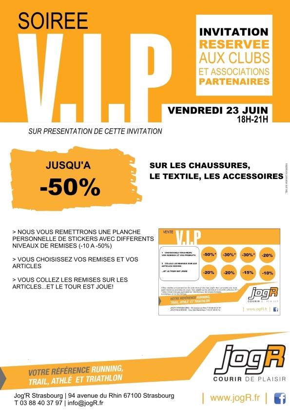 Vente VIP JOGR