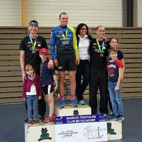Podium Master Ligue Grand Est - photo Manu L